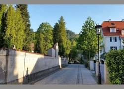 Klosterstraße mit Altstadtvilla