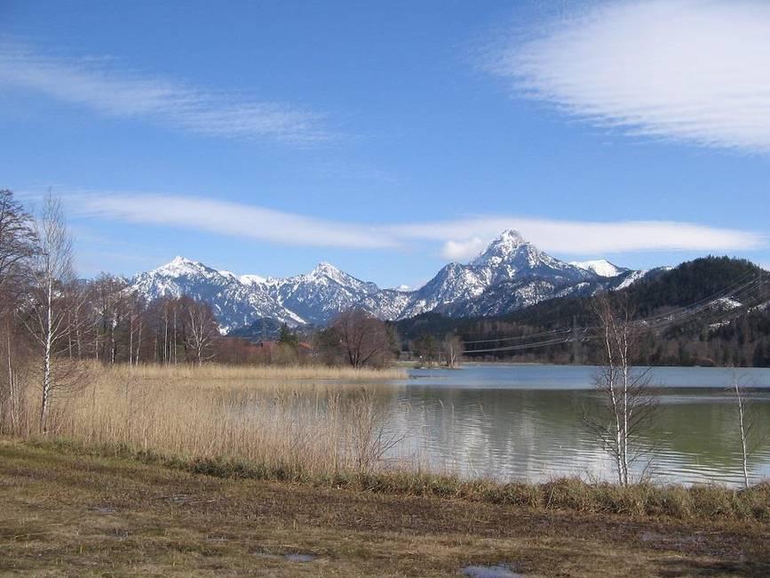 Frühling am Weißensee