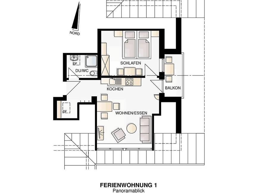 Grundriss Wohnung Seeblick