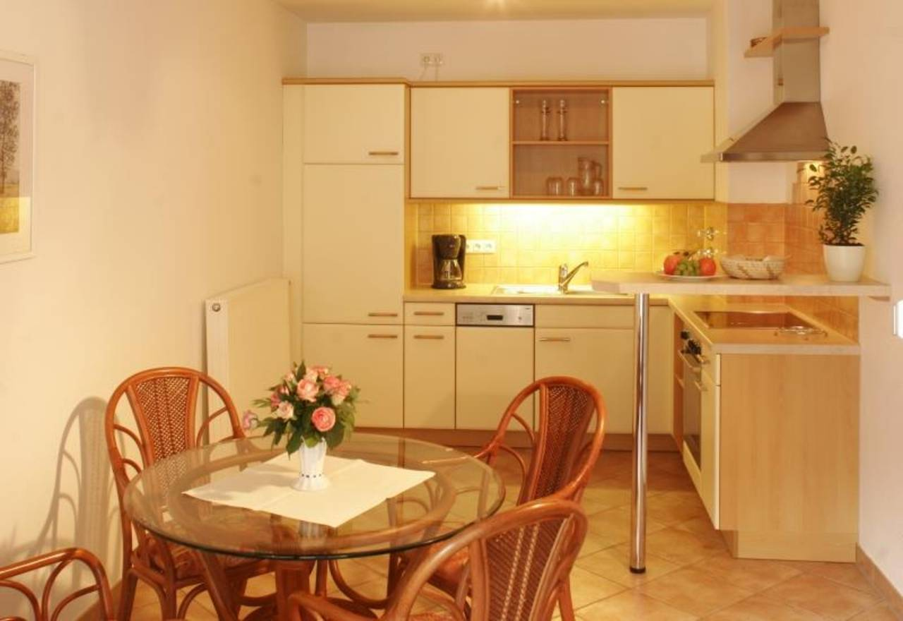 Appartementbeispiel Küche