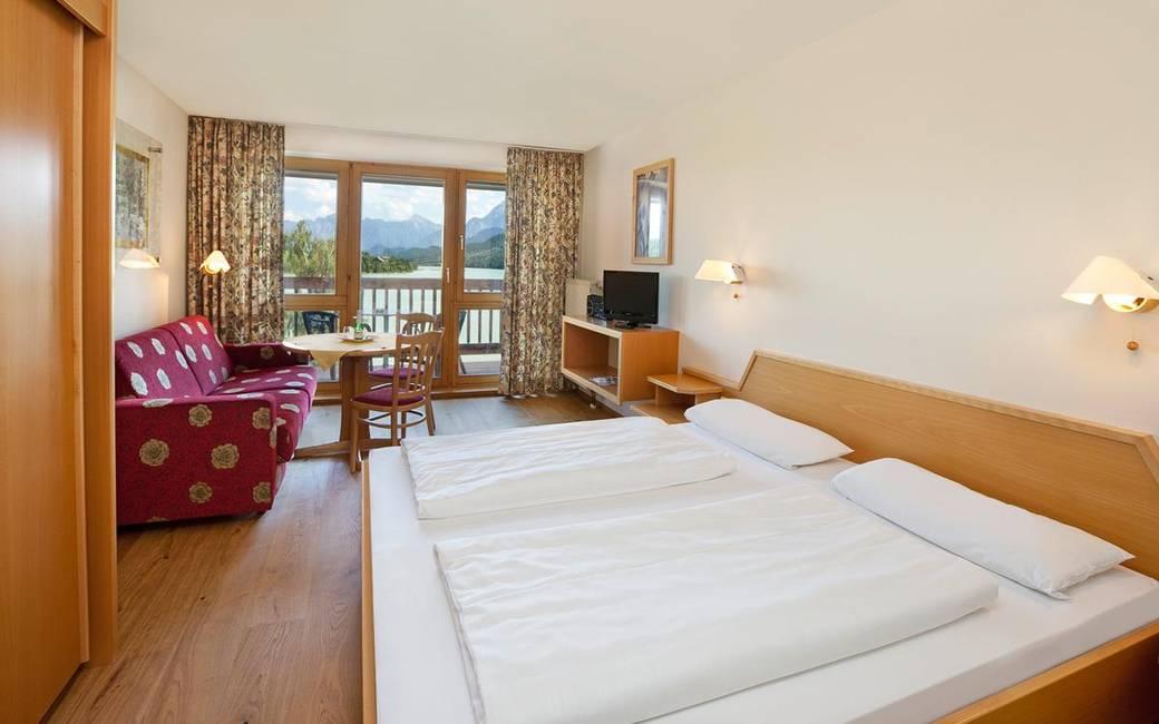 Zimmeransicht Hotel Seespitz