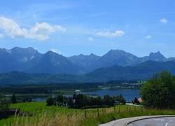 See- und Bergblick
