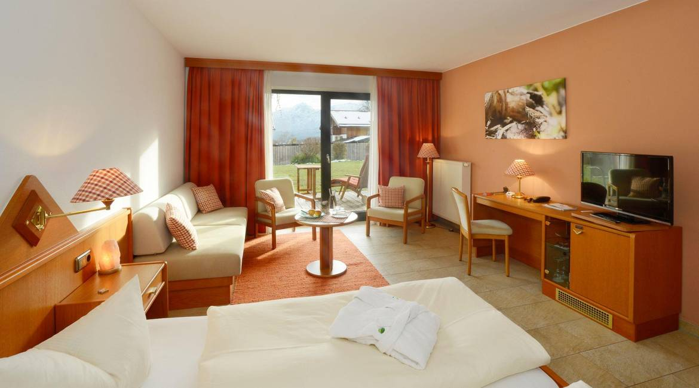 Doppelzimmer Comfort im Biohotel Eggensberger