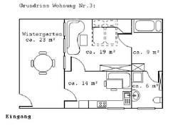 Fewo 3 mit Wintergarten/ Souterrain