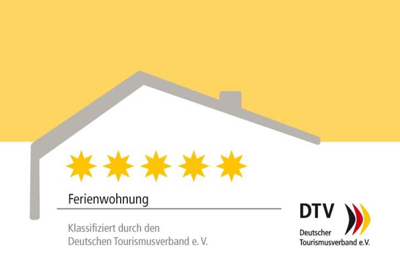 DTV-Kl_Schild_Ferienwohnung_5 Sterne
