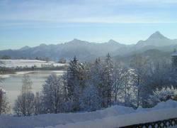 Ausblick Winterlandschaft