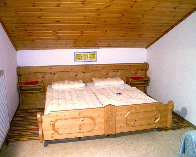 Schlafzimmer Ferienwohnung Melisse