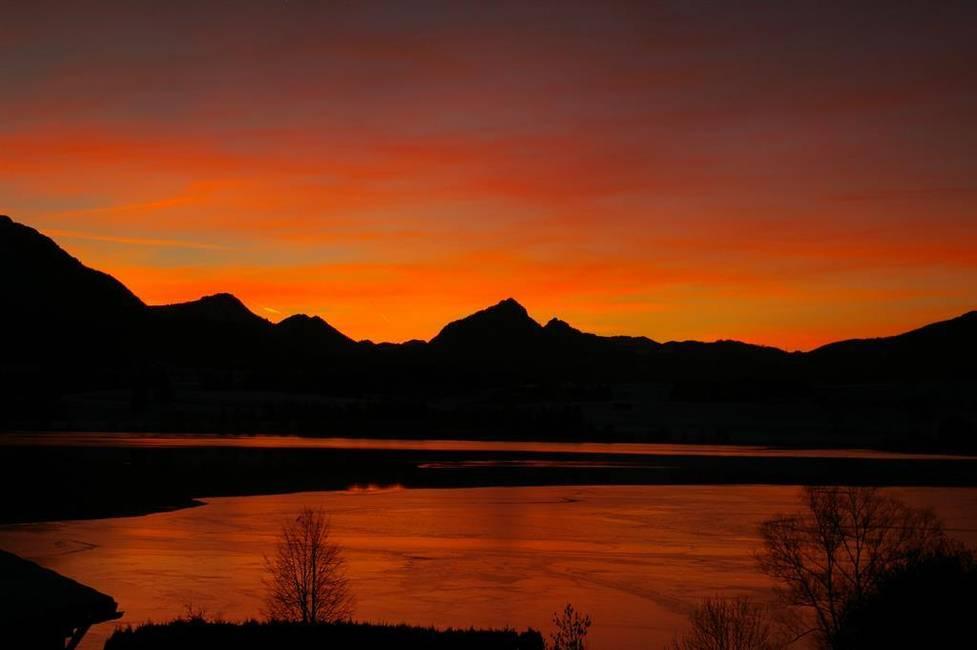 Atemberaubende Sonnenuntergänge