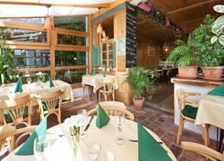 Restaurantansicht Hotel Seespitz