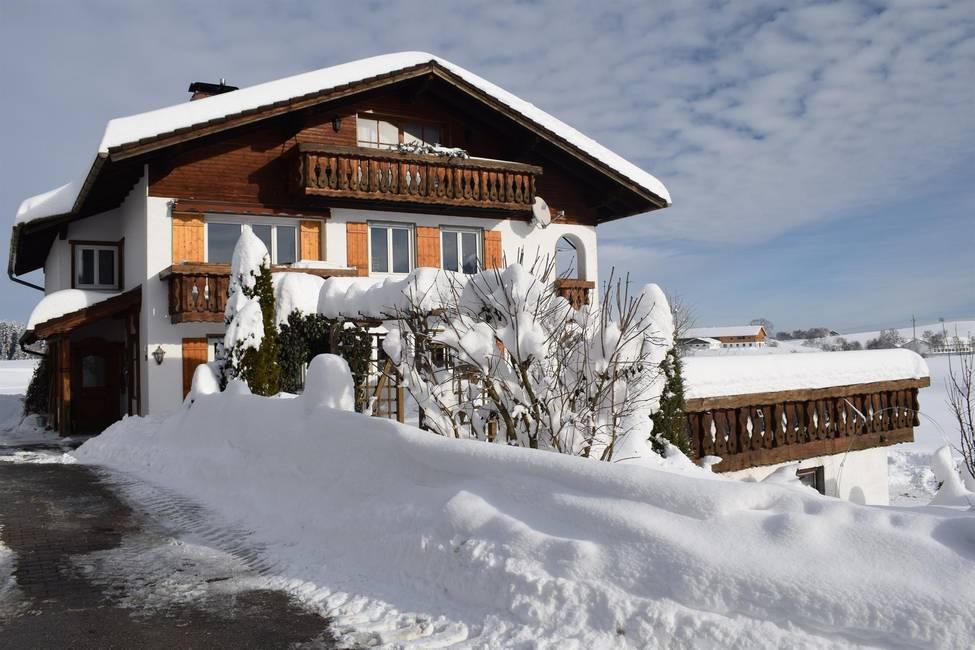 Landhaus Senn im Winter