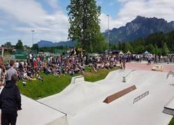 Die neue Skateranlage in Füssen / Allgäu