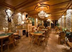 Frühstücksraum & Café mit Alpen-Panoramablick