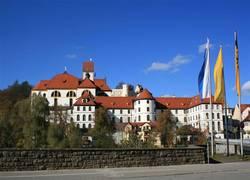Ansicht Stadt Füssen Kloster