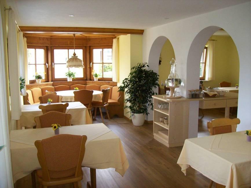 Speisesaal - Retreat Haus Füssen