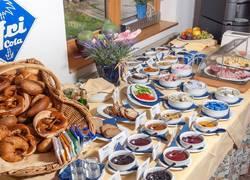 Abwechslungsreiches Frühstücksbuffet im Seespitz