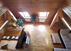 Wohn-/Schlafzimmer Ferienwohnung 1
