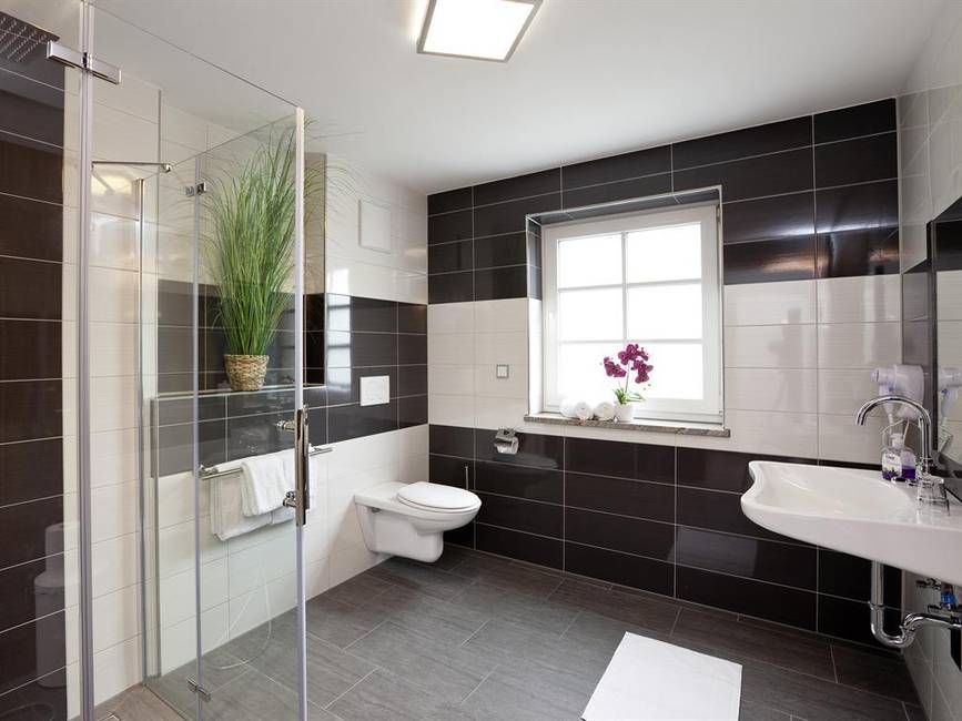 Badezimmer Deluxe Doppelzimmer