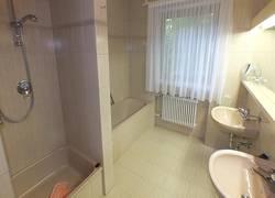 Appartementbeispiel Badezimmer