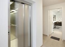 Aufzug zur Wohnung