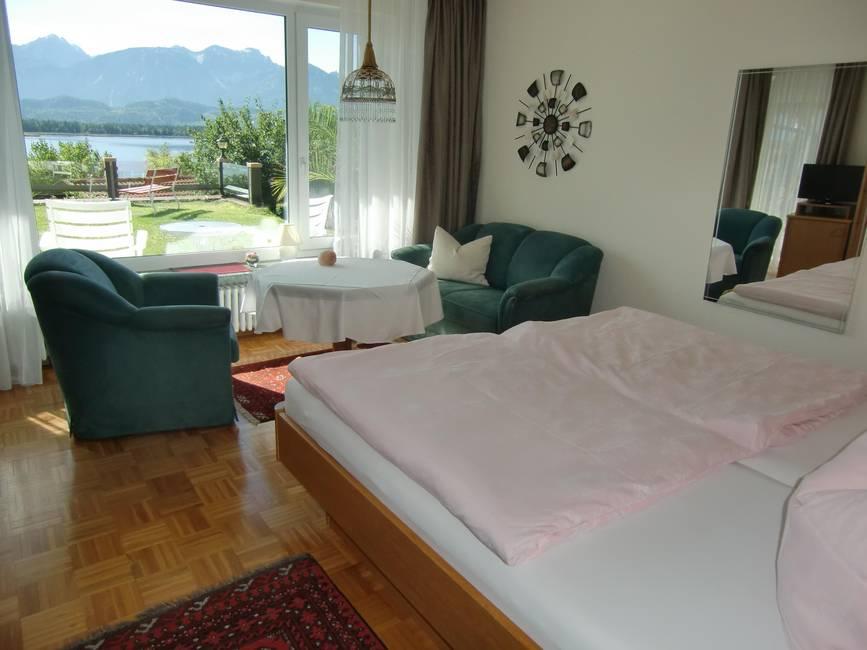 Terrassenwohnung Schlafzimmer