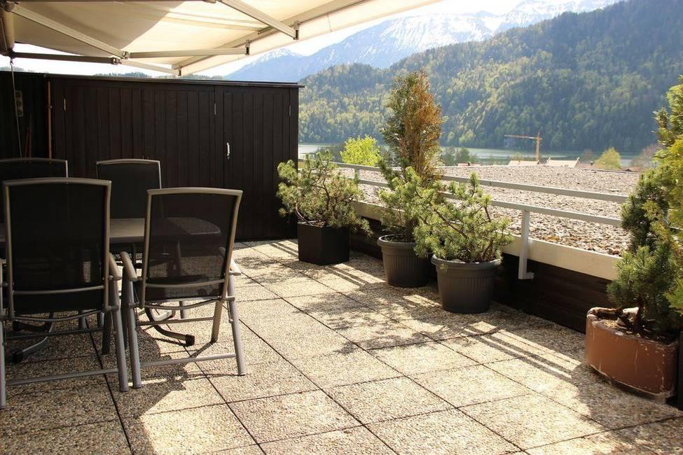 Terrasse, See-/Bergblick