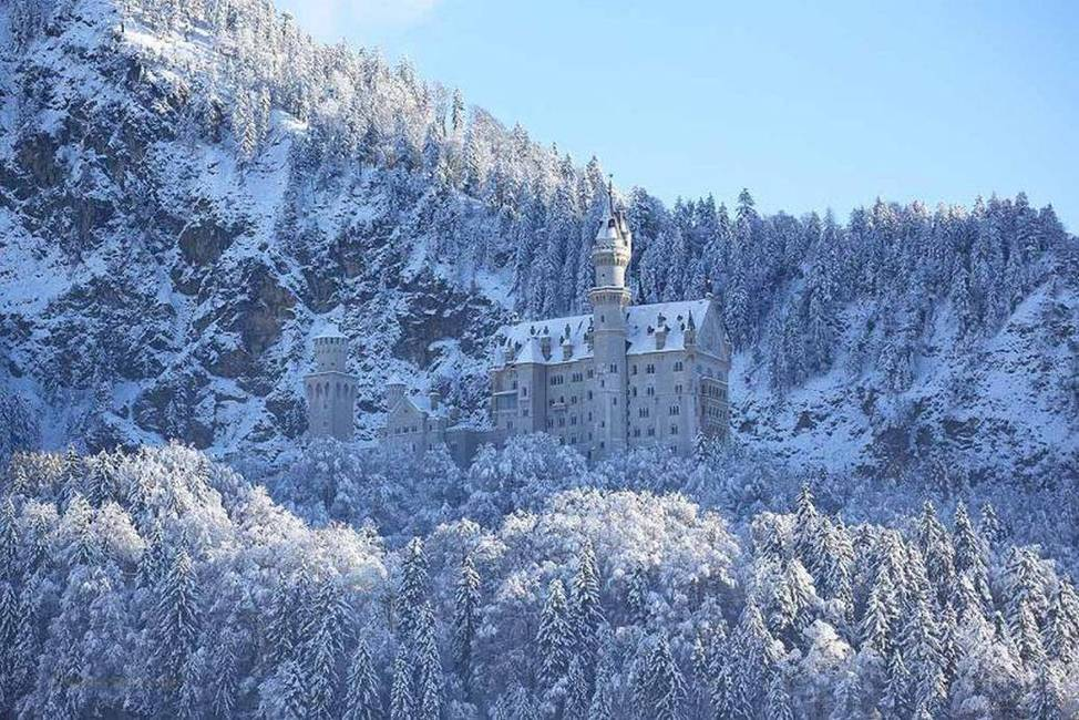 Schloß Neuschwanstein Winter