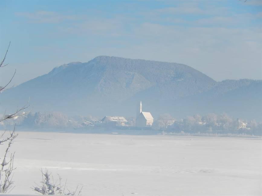 Blick über Forggensee nach Waltenhofen