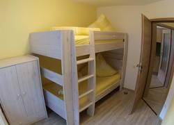 Schlafraum für die Kids mit Stockbett