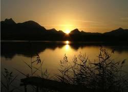 Hopfensee Sonnenuntergang