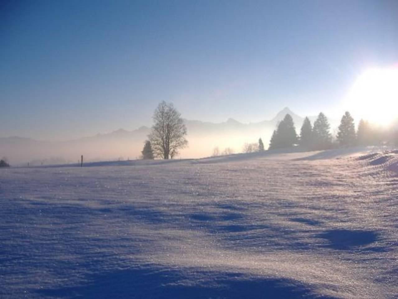 Auch im Winter ist es in Benken wunderschön