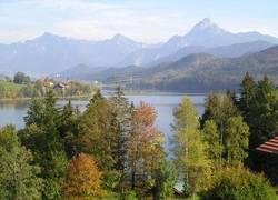 Ausblick Herbstlandschaft