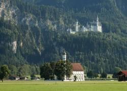 Füssen St. Coloman & Schloss Neuschwanstein