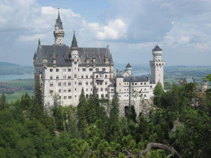 Umgebung: Schloss Neuschwanstein