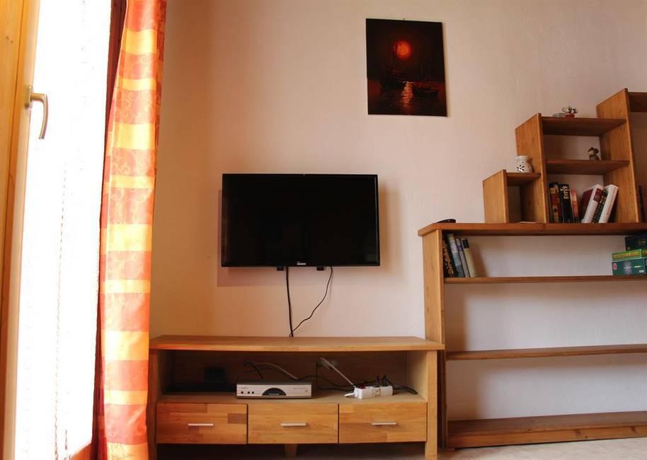 Wohnzimmer m. Balkon