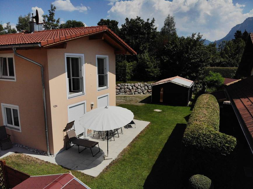 Außenansicht Alpina Ferienhaus Füssen / Allgäu
