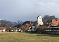 Blick zum Tegelberg