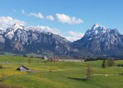 Tegelberg und Säuling im Mai
