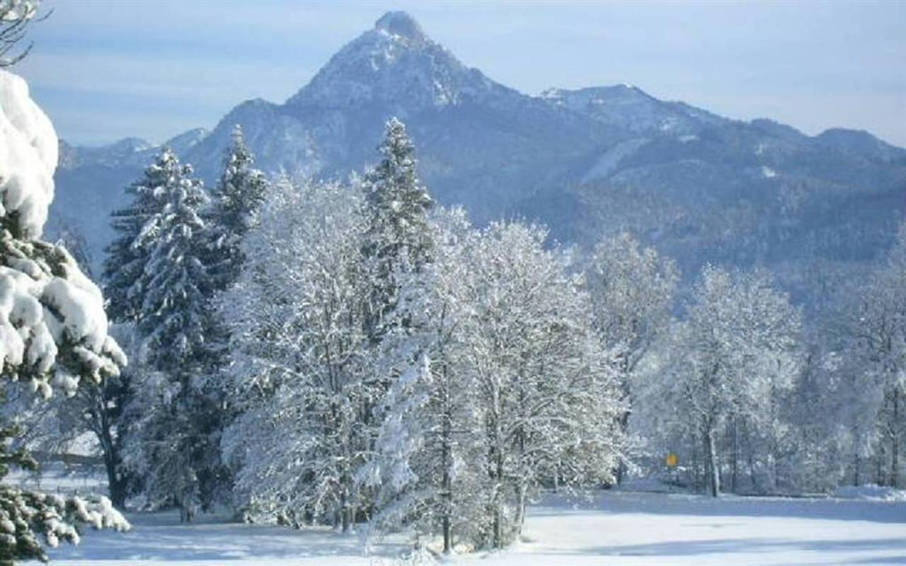 """Blick vom Balkon """"Winter"""""""