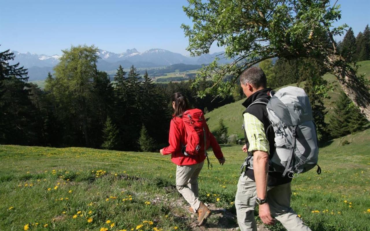 Ausgangspunkt für Wanderer