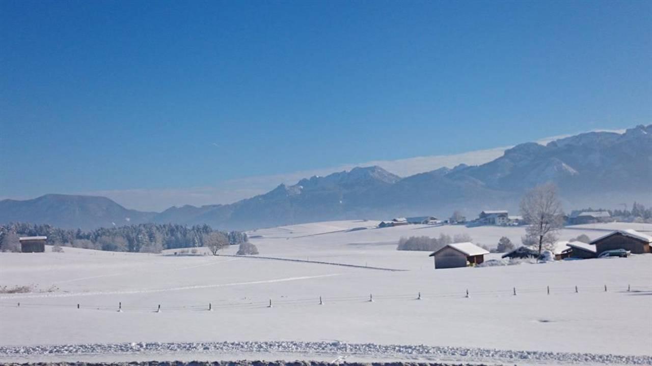 Winterlandschaft vor unserer Haustüre