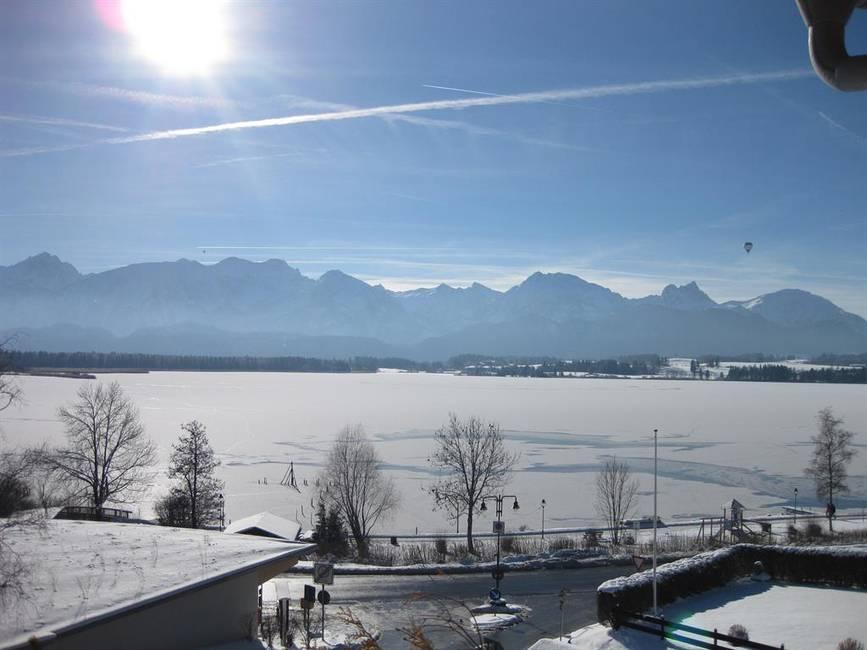 Winterlandschaft Hopfensee