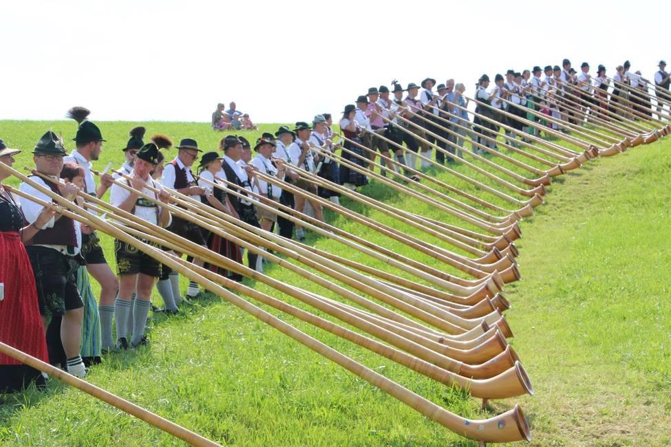 Das Alphorn - ein gutes Stück Allgäu