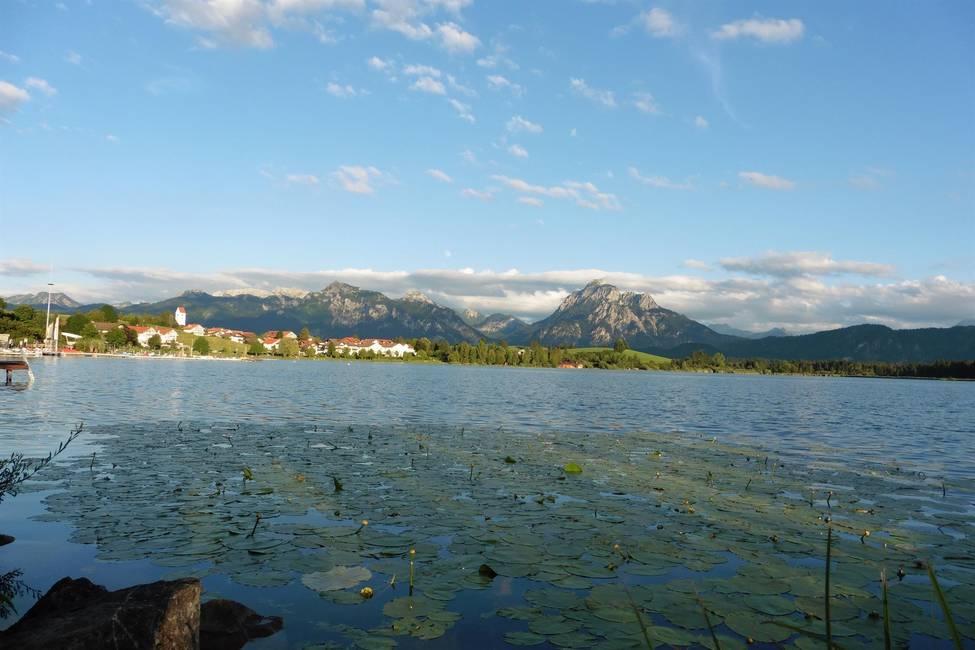 Blick vom See aus