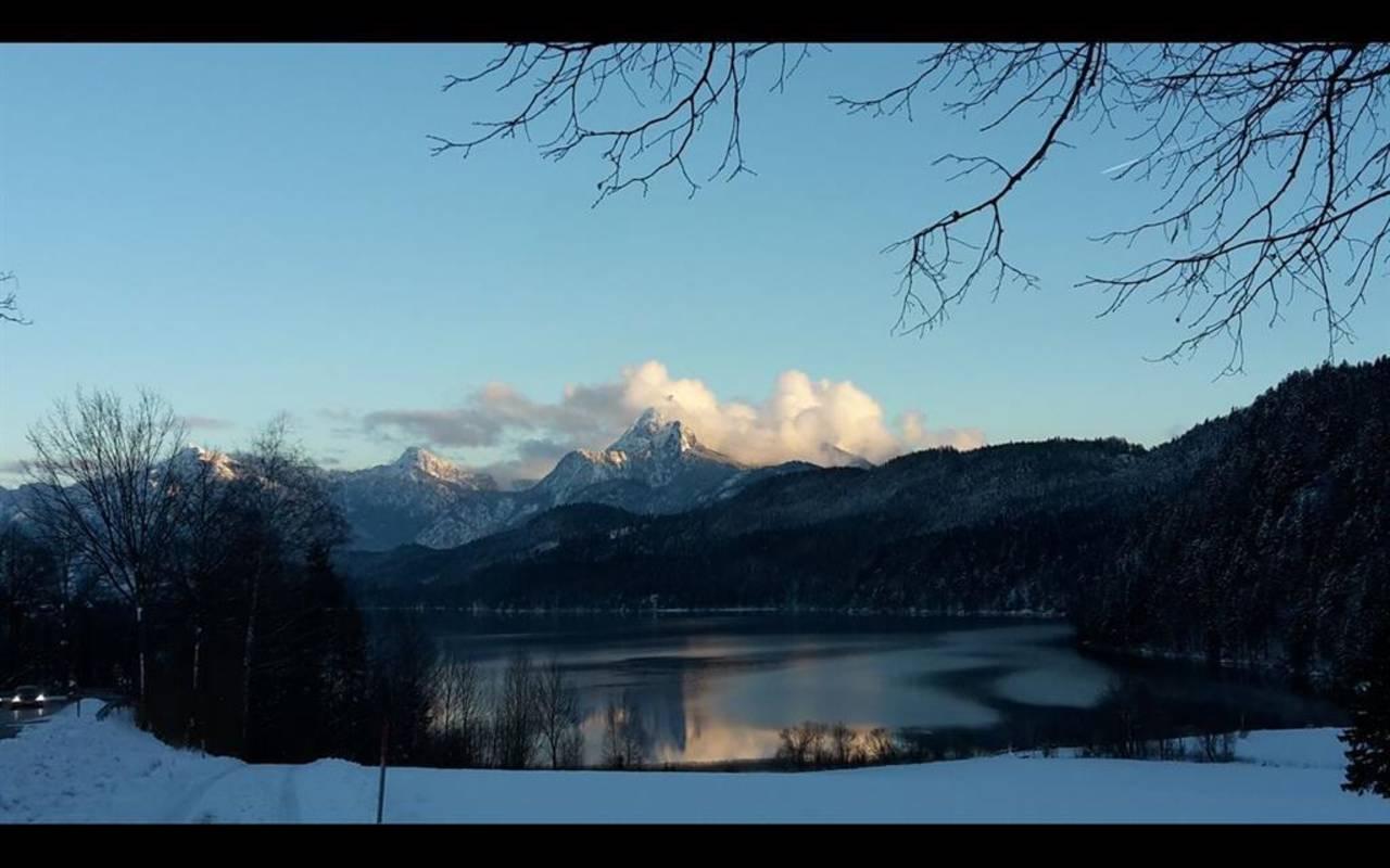 Winterbild Weißensee