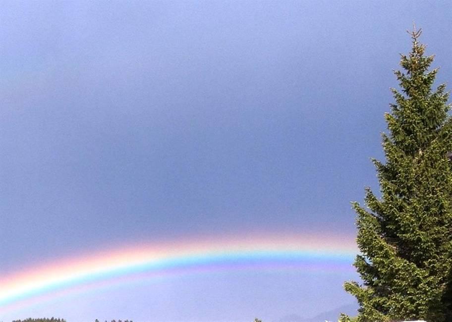 Regenbogen über Füssen