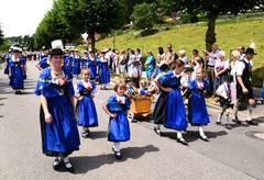 """Der Gebirgstrachten- und Heimatverein """"D'Neuschwanstoaner Stamm Füssen"""" richtet als Gründungsmitglied des Oberen Lechgau-Verbands das 90. Gautrachtenfest vom 28. bis 30. Juli in Füssen aus."""