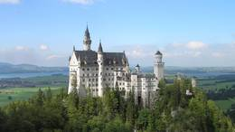 Schloss Neuschwanstein, Reiseleitung Füssen, Blick von Marienbrücke, Ausblick