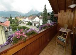 Ost Balkon - Blick auf den Tegelberg2
