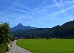 Berg/See ausblick