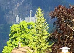 Schlossblick vom Balkon
